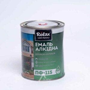 Эмаль РОЛАКС ПФ-115К голубая (2,8кг)