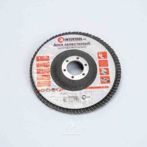 Круг лепестковый торцевой 125мм Р80