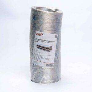 Воздуховод алюм. гофрированный 80мкм, d100, 3м