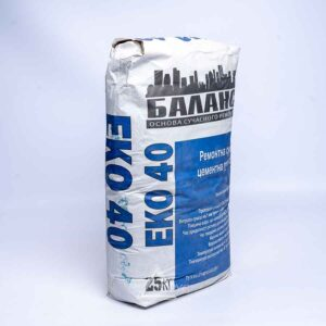 Смесь ЕКО 40 ремонтно-цементная (25кг)