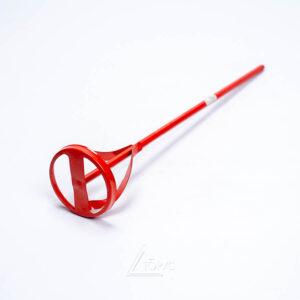 Миксер для краски Intertool (красный) 60*300мм