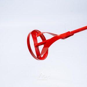 Миксер для краски Intertool (красный) 80*400мм