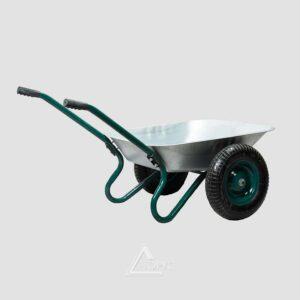 Тачка садовая 2-колесная WB6407, 70/140л , 120 кг