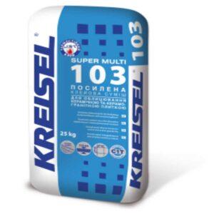 Клей для плитки усиленный Kreisel 103(25 кг)
