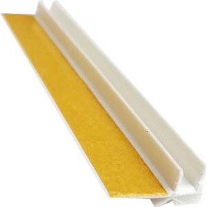 Приоконный профиль ПВХ 6мм БЕЗ СЕТКИ 2,5 м белый