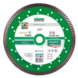 Алмазный диск Distar 230*22.23 Turbo Elite MAX (10115127018)
